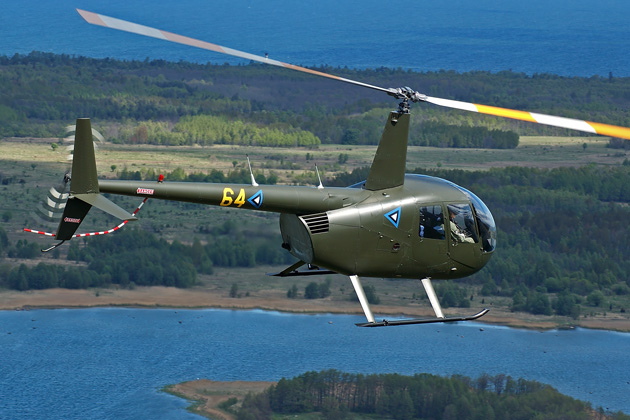 Estonian Air Force helicopter NVIS modifications complete