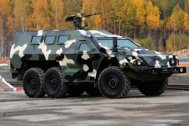 Russian army to receive Bulat 6x6 APCs