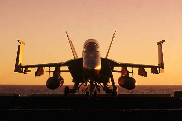 Boeing advances F/A-18E, F-15E training simulation