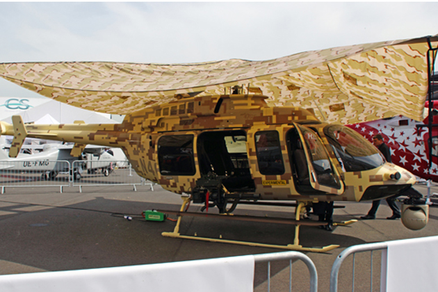LAAD 2015: Bell push militarised commercial helicopters