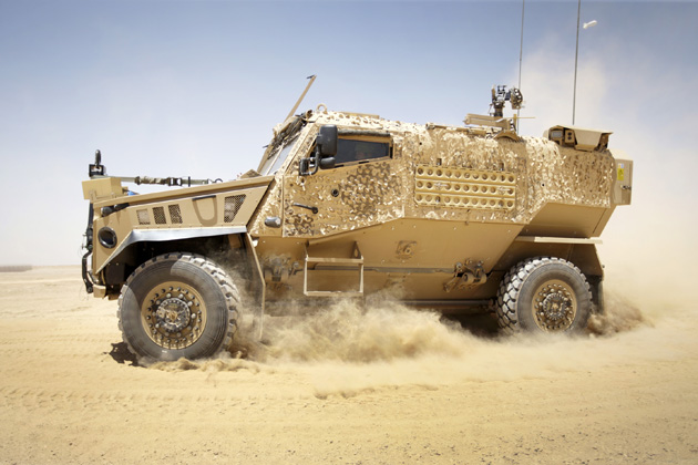 UK MoD to acquire new Foxhound vehicles
