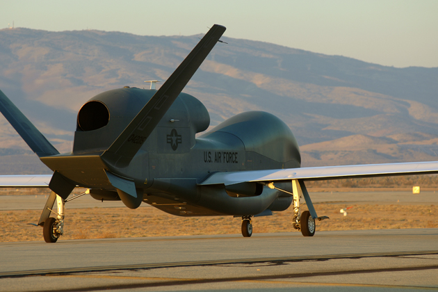 DCS awarded Global Hawk services task order