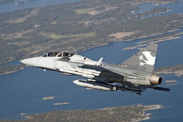 Saab to support Swedish Gripen fleet