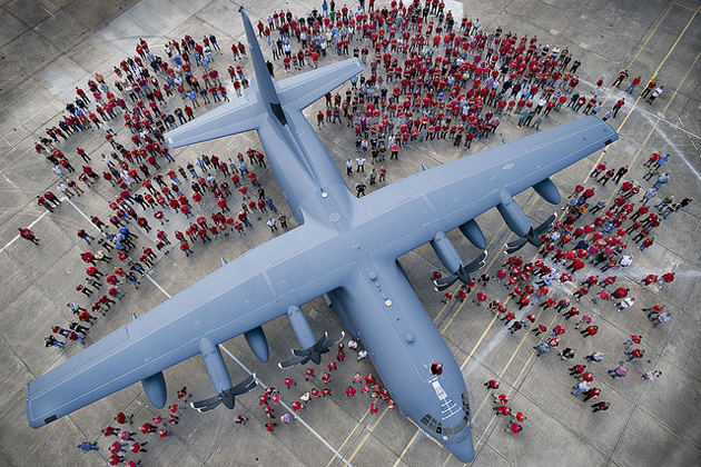 Lockheed Martin marks 2400th C-130 Hercules delivery