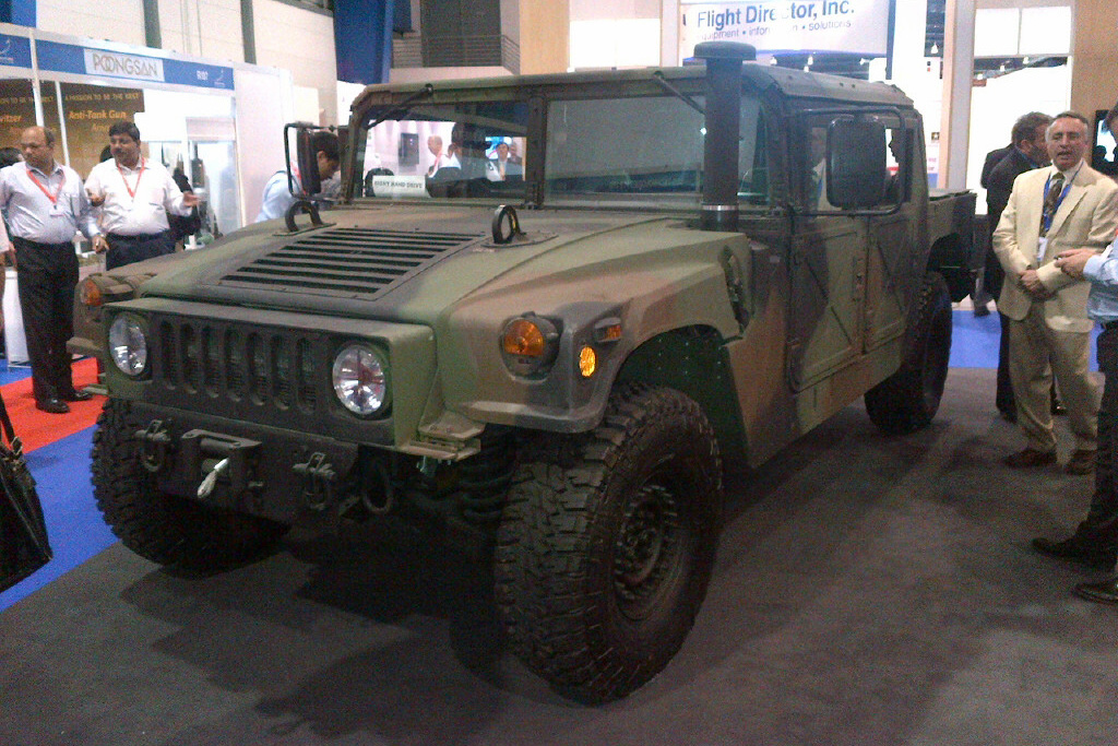 SGA2012: AM General launches right-hand drive HMMWV