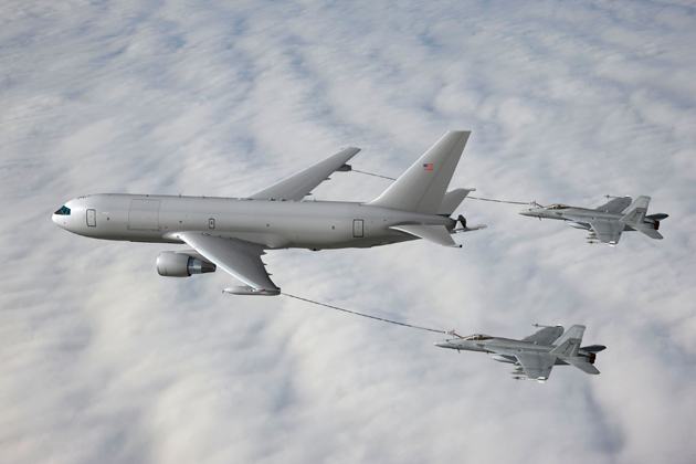 Cobham Body Fuel Tanks selected for KC-46A