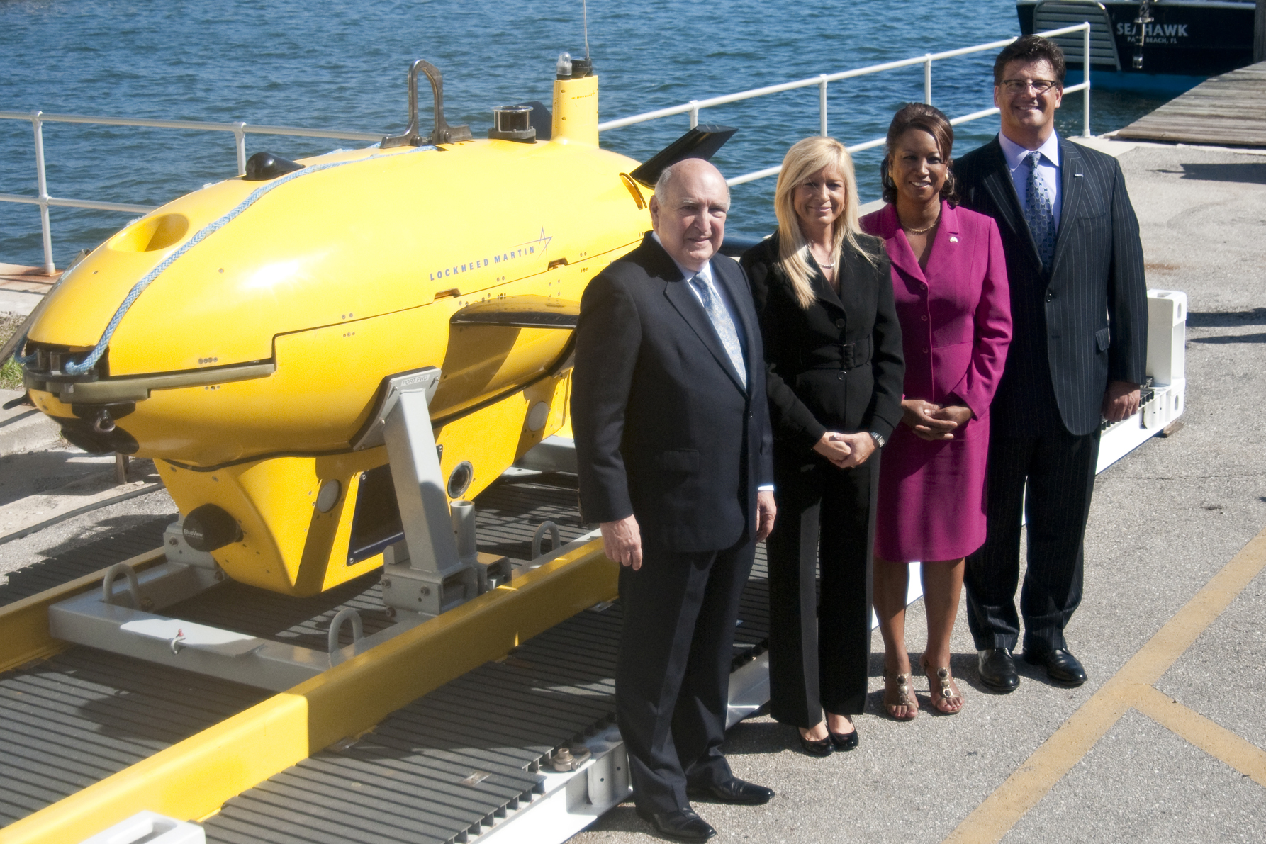 Space Florida, Lockheed Martin collaborate for AUV