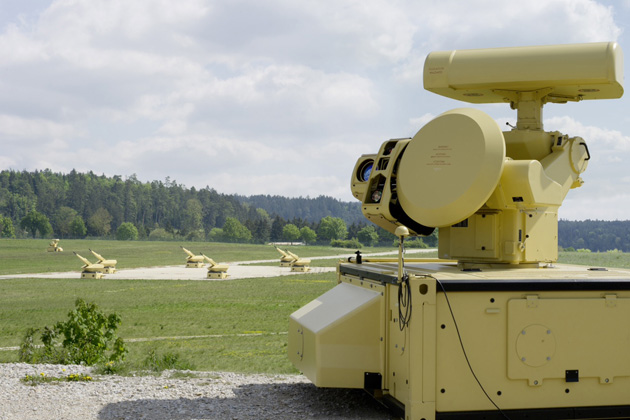 Germany takes delivery of MANTIS air defence system