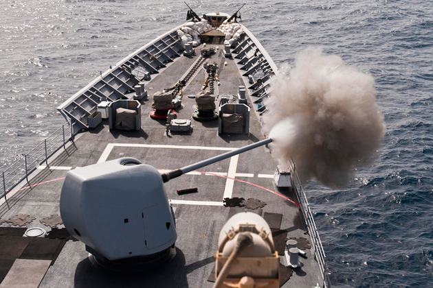 BAE Systems awarded MK45 gun system contract