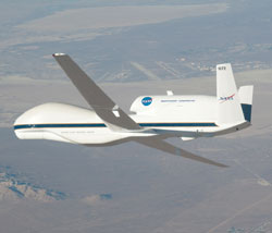 Global Hawk to participate in NASA hurricane study