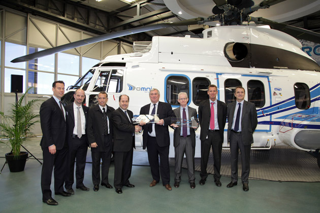 Omni Helicopter International receives first EC225