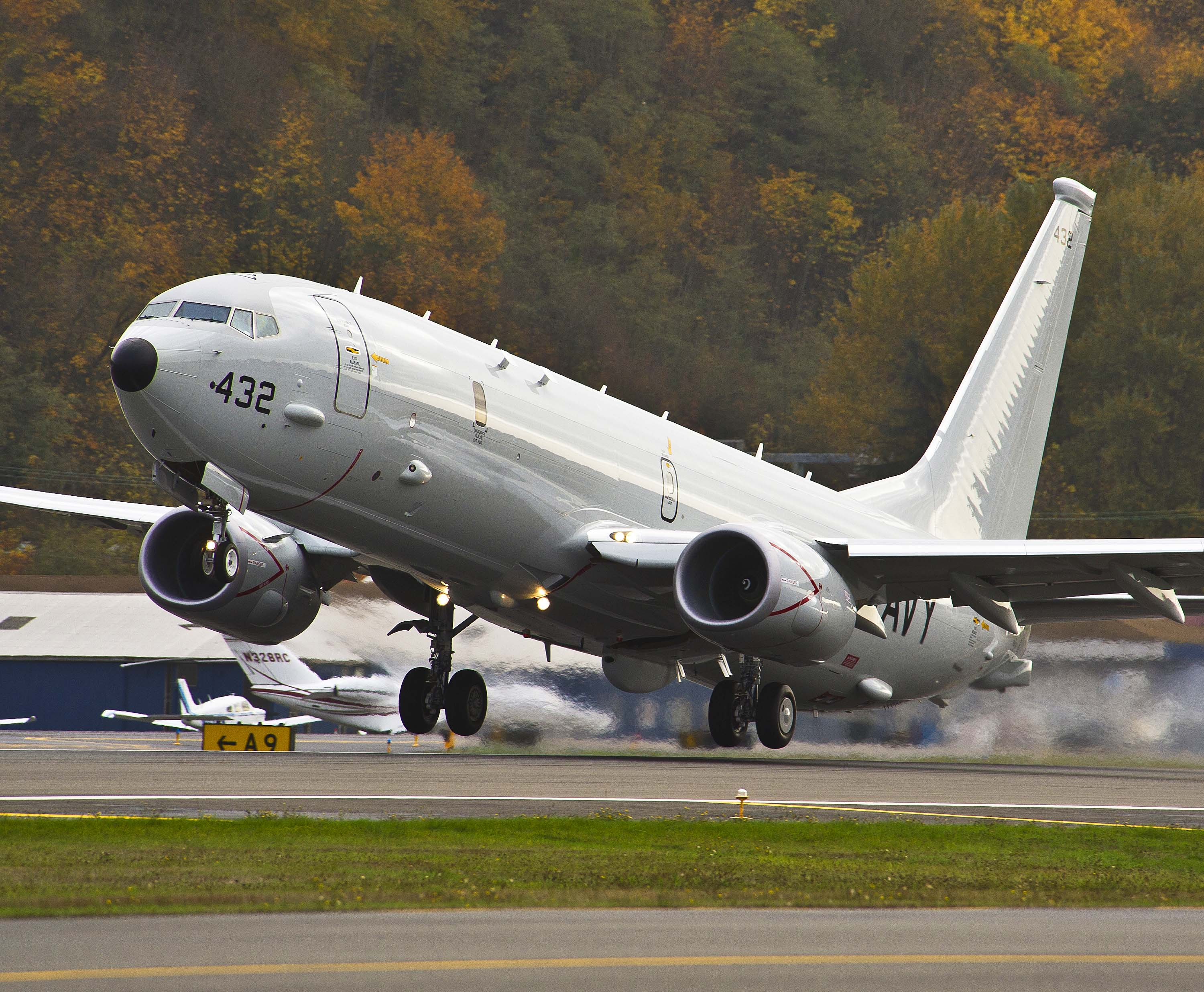 US Navy receives 5th production P-8A Poseidon