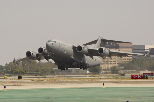 RAAF receives 6th C-17 aircraft