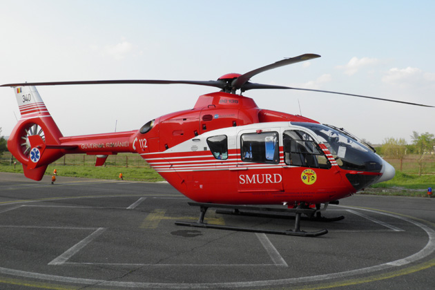 Romanian  Ministry of Health orders more EC135s