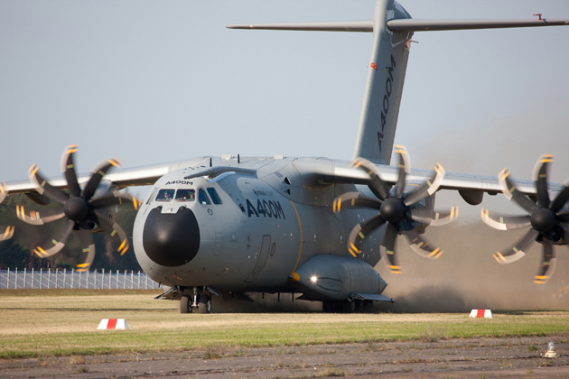 A400M begins rough field tests