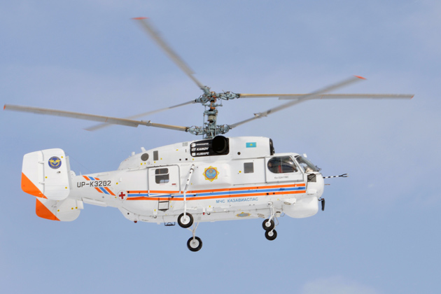 Ka-32A11BC delivered to EMERCOM of Kazakhstan