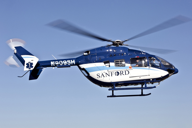 Metro Aviation delivers first EC145s to Sanford Health