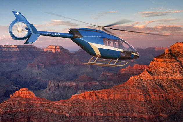 Heli-Expo 2012: Work underway on Marenco Swisshelicopter prototype