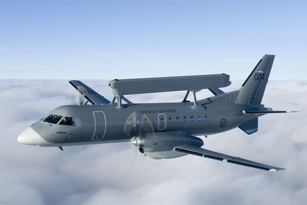 Saab to maintain Swedish Erieye