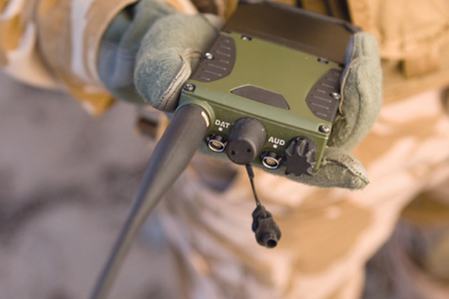 Harris receives Iraq tactical communications order
