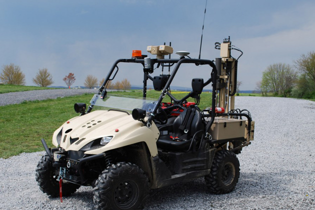 TORC demonstrates new RAZTEK UGV