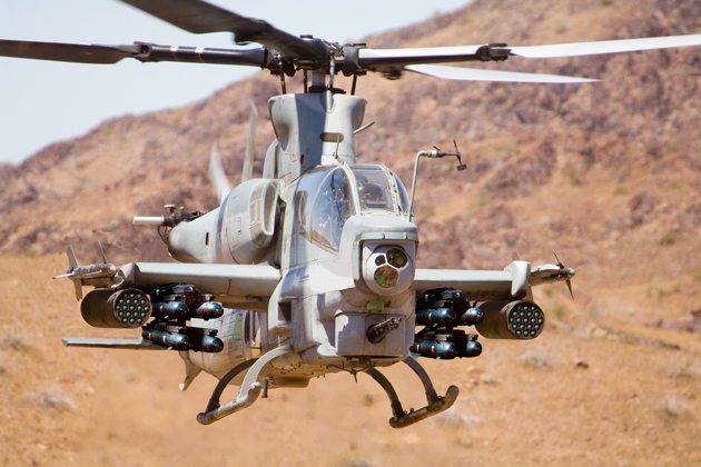 AH-1Z Cobra TSS makes operational debut