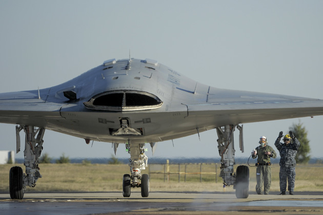 X-47B UCAS successfully operated by CDU