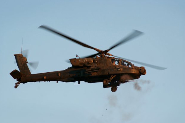 Selex Galileo selected for US Army Apache lasers