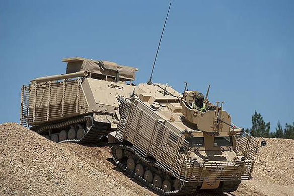 SGA2012: STE launches network solution for combat vehicles