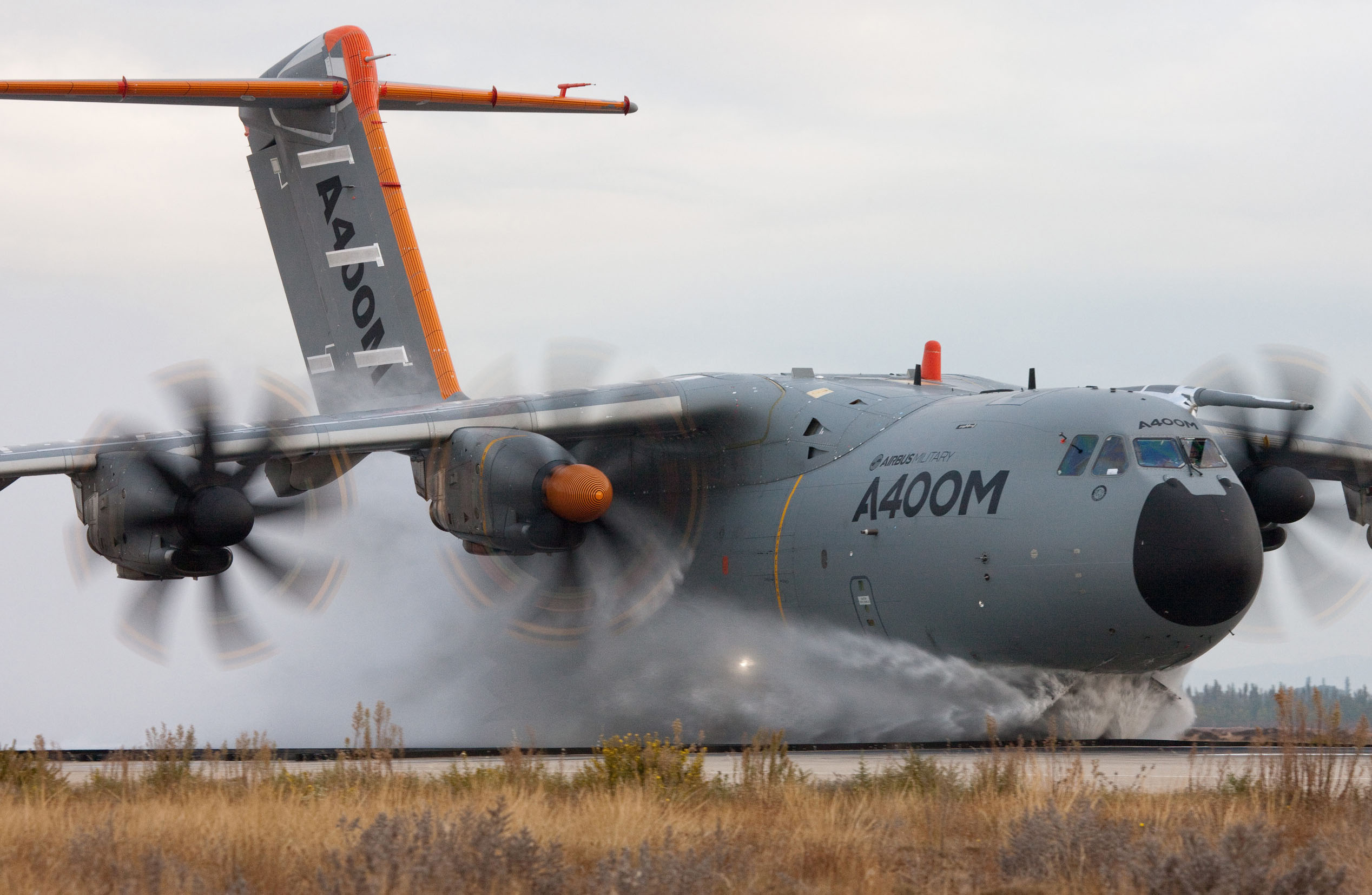 Airbus Military details A400M water ingestion tests