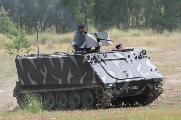 Philippines inducts 100+ M113A2s