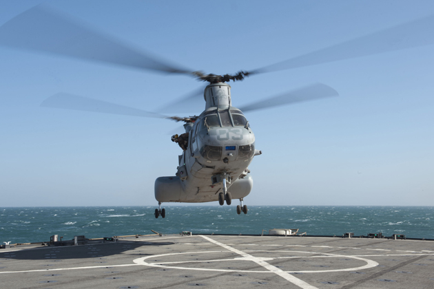 FIDAE 2012: Latin American countries express interest in former Marine Corps Sea Knights