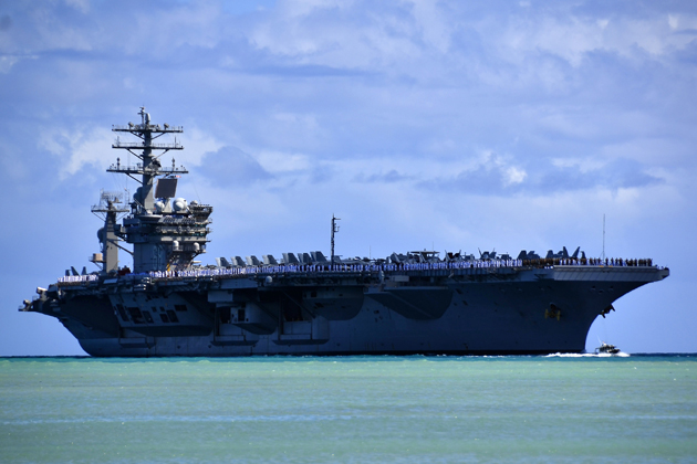 Nimitz first to test use of aviation biofuels