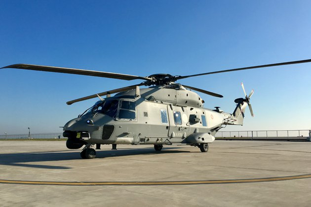 Italian Navy receives NH90 MITT helicopter