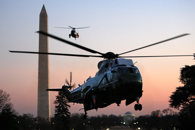 DoD refocuses presidential helicopter replacement