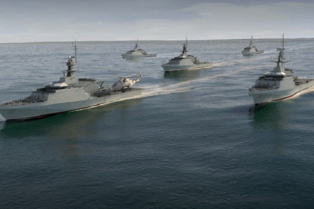 OPV river flows for Royal Navy