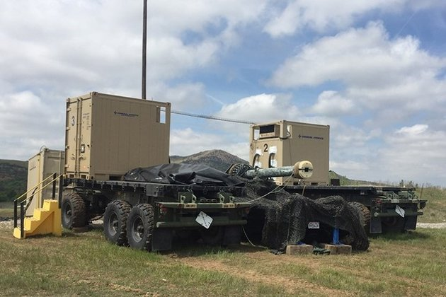 Blitzer railgun demo at US Army MFIX