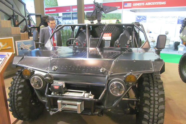 Indo Defence 2016: New Indo SF vehicle launched