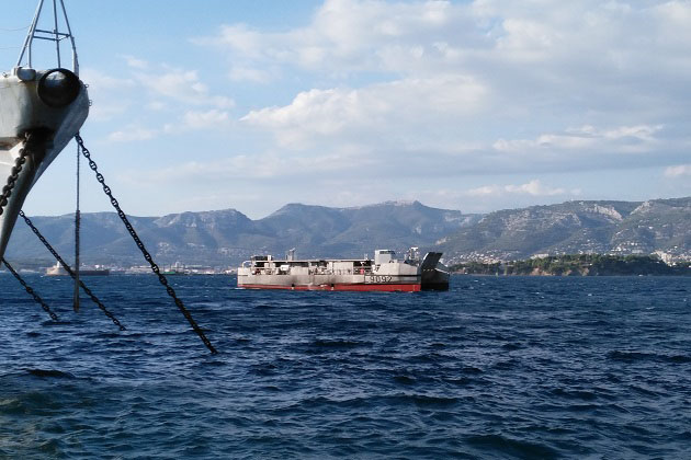 L-CAT tests Captas-1 towed sonar