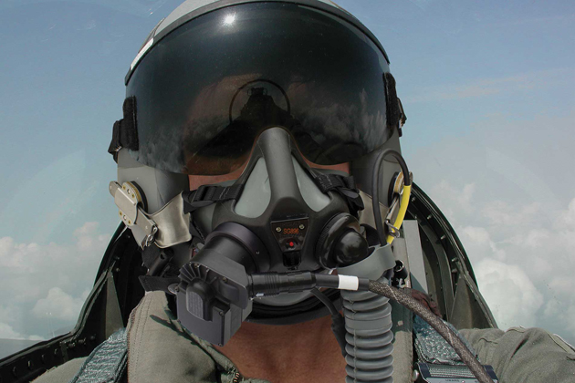 Cobham to make USAF pilot breathing sensors