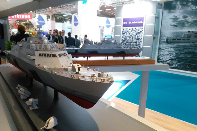 Euronaval 2016: Smaller variant of LCS in the works
