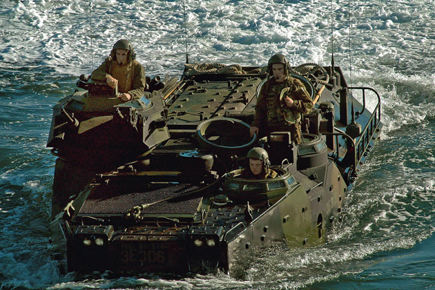 SAIC wins Assault Amphibious Vehicle support work