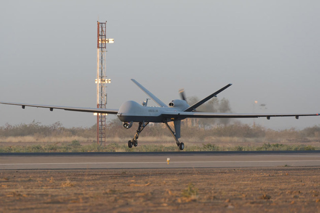 French Reaper reaches 500 Mali flight hours