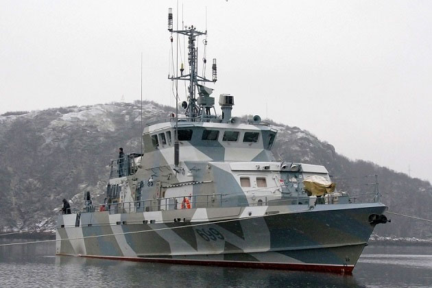 Two new harbour patrol boats for Russian Navy