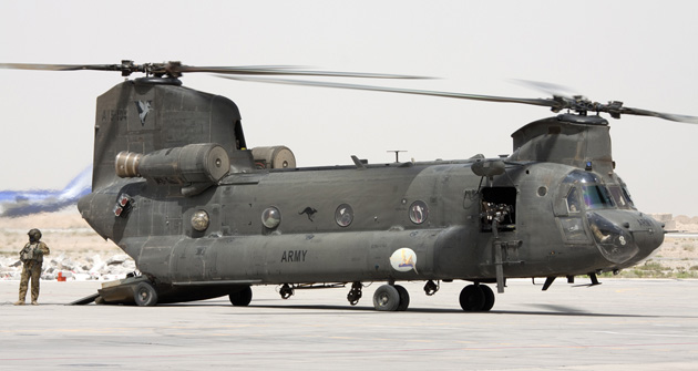 "AUSA 2011: Chinook flight issue deemed to be an ""isolated incident"""