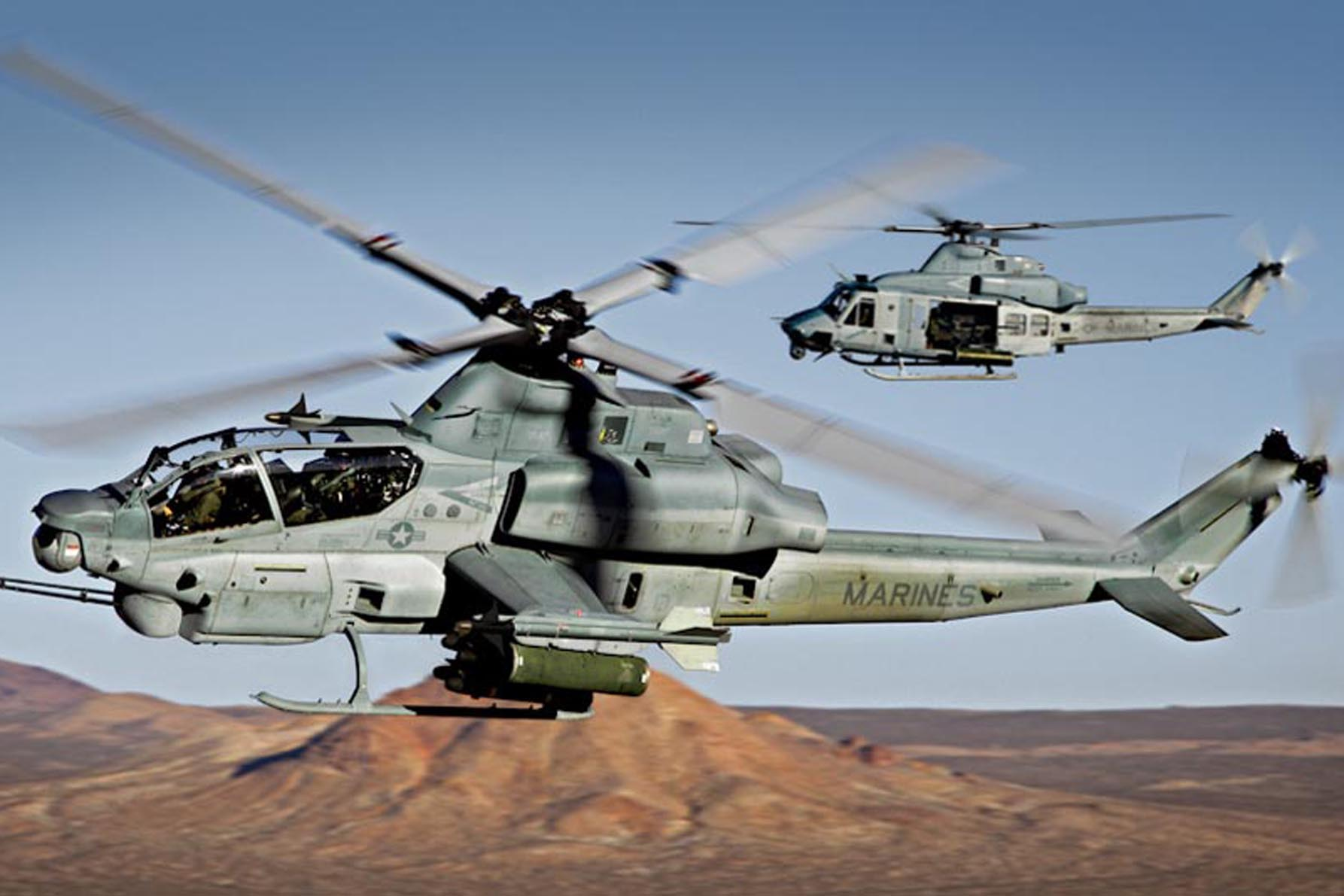 Turkey requests AH-1W helicopters