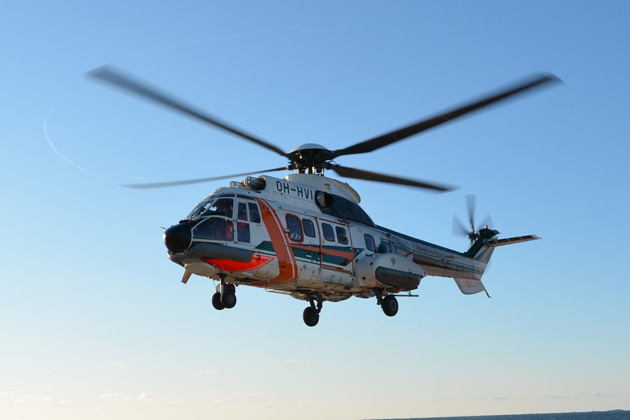 Finnish Border Guard selects AS332 L1 Super Puma