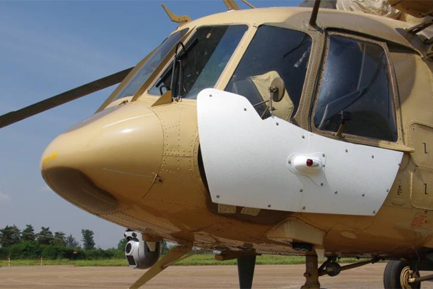AUSA 2012: ASU Baltija offering new lightweight Mi-17 cockpit armour