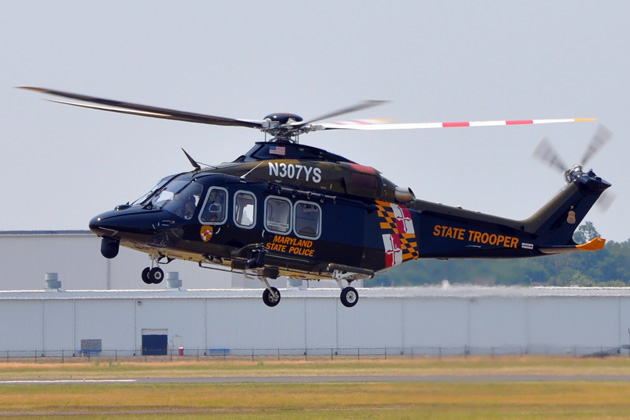 Maryland State Police exercises AW139 options