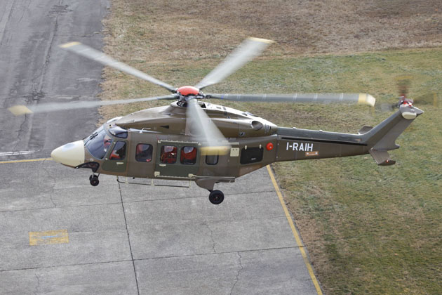 AW189 makes maiden flight